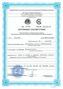 Мы получили международный сертификат ISO 9001:2008